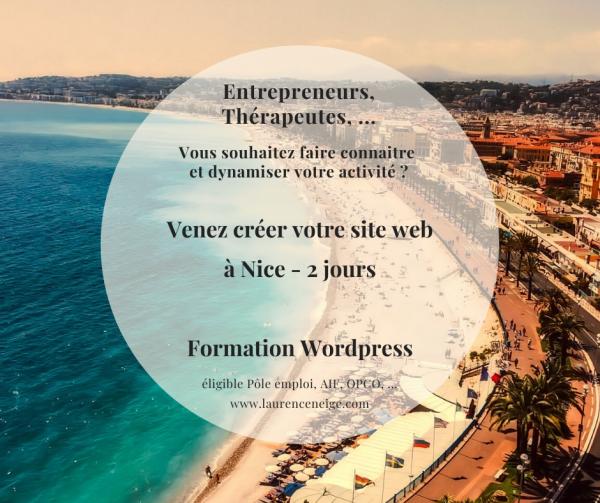 Formation WordPress éligible Pôle Emploi, AIF, OPCA, OPCO à Nice 06